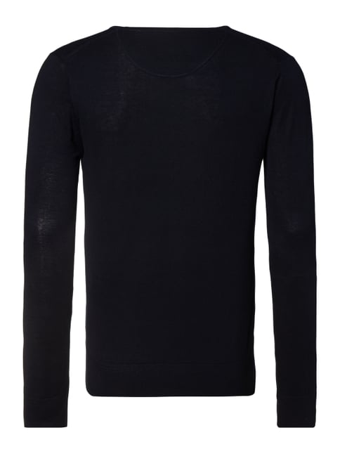Scotch & Soda Pullover in Melangeoptik Dunkelblau - 1