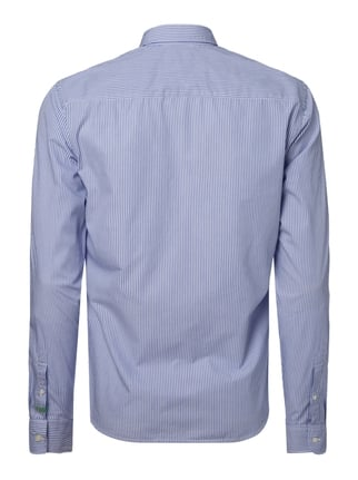 Scotch & Soda Slim Fit Freizeithemd mit Allover-Muster Marineblau - 1