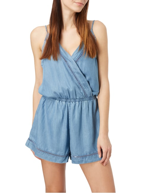 Seafolly Caribean Kool Playsuit in Denimoptik Jeans - 1