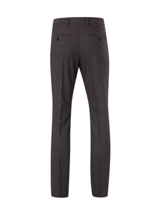 Selected Homme Business-Hose mit Webmuster Anthrazit - 1