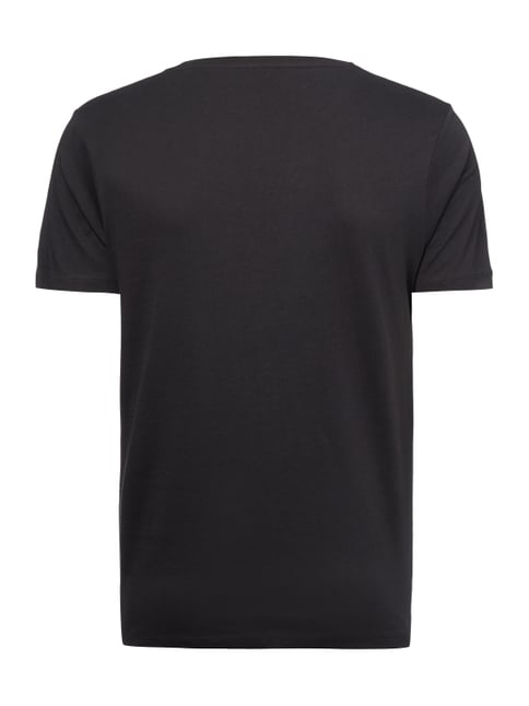 Selected Homme T-Shirt aus Pima-Baumwolle Anthrazit - 1
