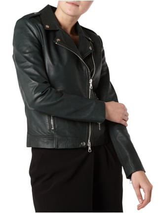 Set Lederjacke im Biker-Look Bottle - 1