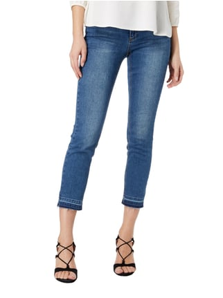 Set Stone Washed Ankle Cut Jeans Jeans - 1