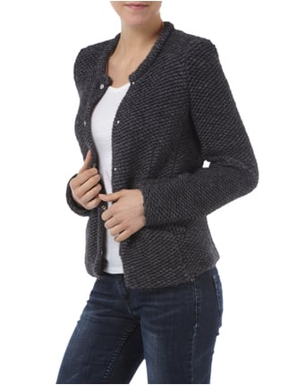 Set Strickblazer mit Alpaka-Anteil Anthrazit - 1
