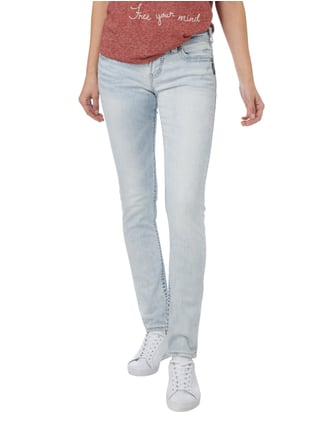 Silver Jeans Bleached Skinny Fit Jeans mit Pattentaschen Jeans - 1