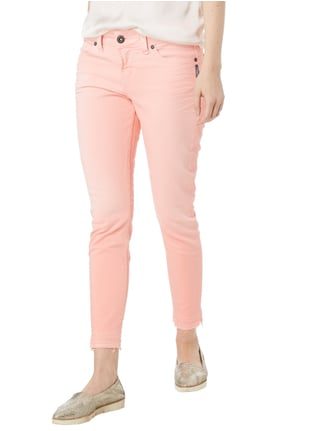 Silver Jeans Coloured Skinny Fit 5-Pocket-Jeans Neon Pink - 1