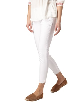 Silver Jeans Coloured Skinny Fit 5-Pocket-Jeans Weiß - 1