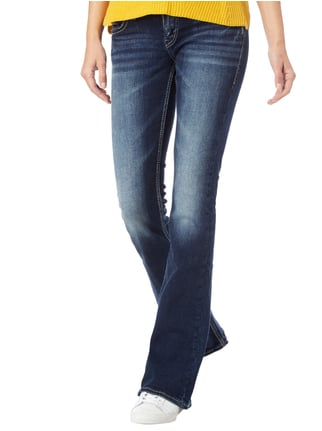 Silver Jeans Double Stone Washed Flared Cut Jeans Jeans - 1