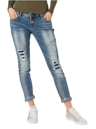 Silver Jeans Girlfriend Fit Jeans im Destroyed Look Jeans - 1