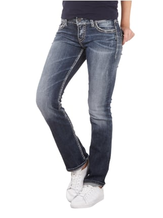 Silver Jeans Light Used Look Straight Fit 5-Pocket-Jeans Jeans - 1
