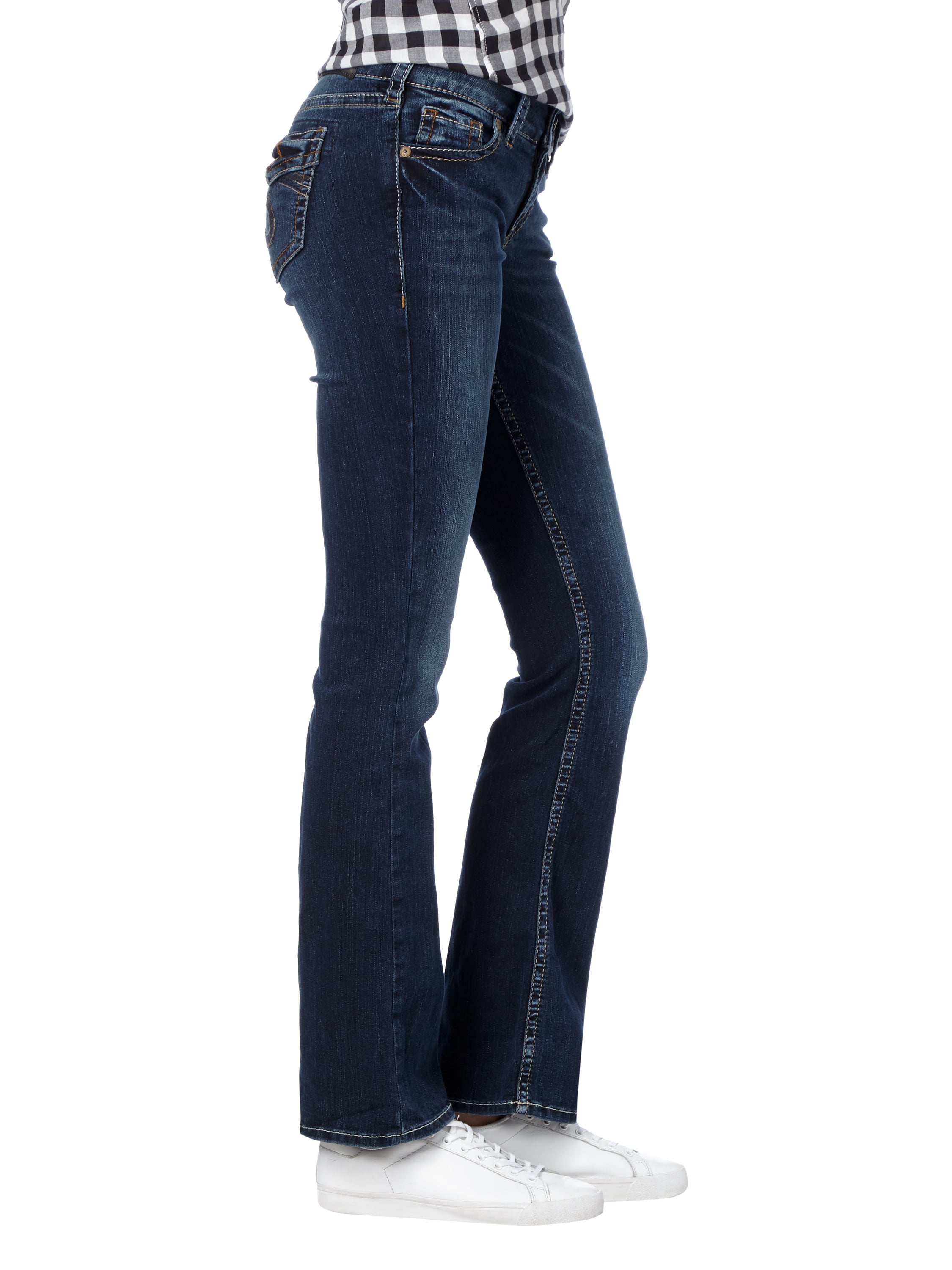 silver jeans stone washed boot cut 5 pocket jeans in blau t rkis online kaufen 9496386 p c. Black Bedroom Furniture Sets. Home Design Ideas