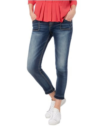 Silver Jeans Stone Washed Skinny Fit Jeans Jeans - 1
