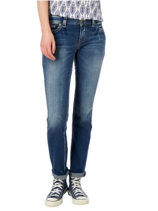 Silver Jeans Straight Fit Jeans im Used Look Jeans - 1