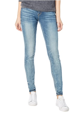 Silver Jeans Super Skinny Fit Jeans im Destroyed Look Jeans - 1