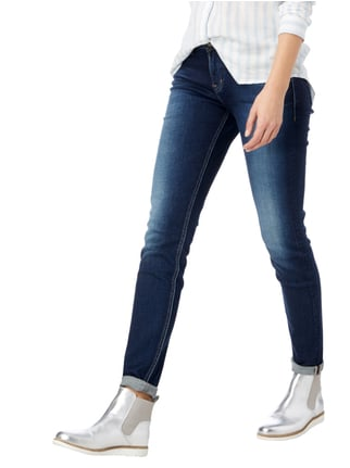 Silver Jeans Super Skinny Fit Jeans im Used Look Jeans - 1