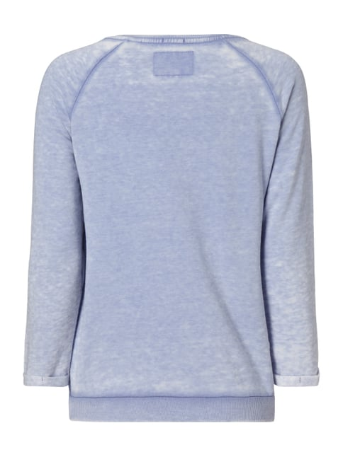 Superdry Sweatshirt im Washed Out Look Hellblau meliert - 1