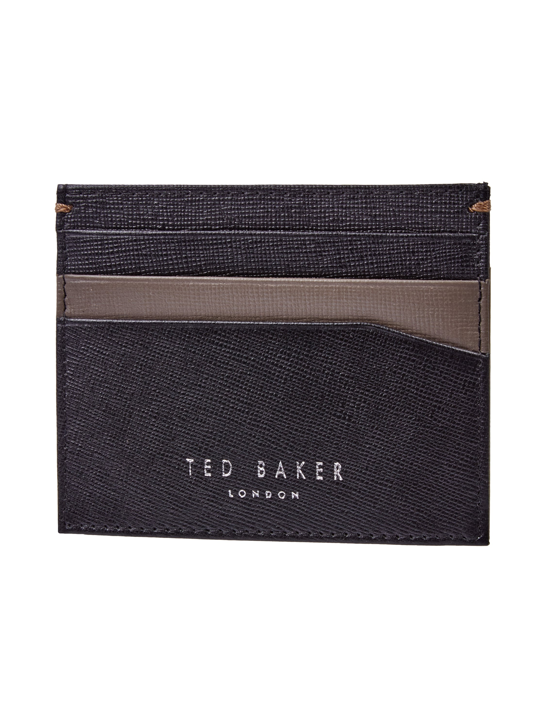 ted baker accessoire set aus geldb rse und kartenetui in grau schwarz online kaufen 9513896. Black Bedroom Furniture Sets. Home Design Ideas