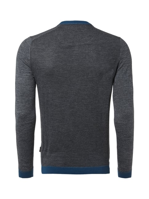 Ted Baker Pullover aus Merinowolle Anthrazit - 1