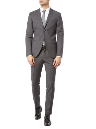 Tiger Of Sweden Business-Hose mit Webmuster in Grau / Schwarz - 1
