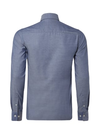 Tiger Of Sweden Slim Fit Hemd mit Webmuster Blau - 1