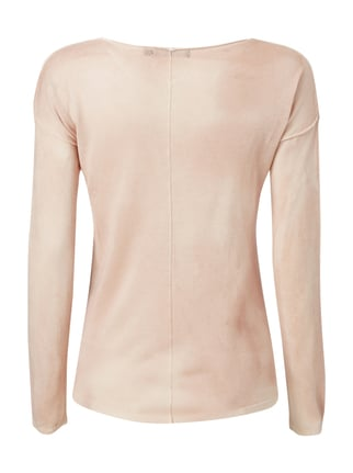 Tigha Pullover im Washed Out Look Rosa - 1