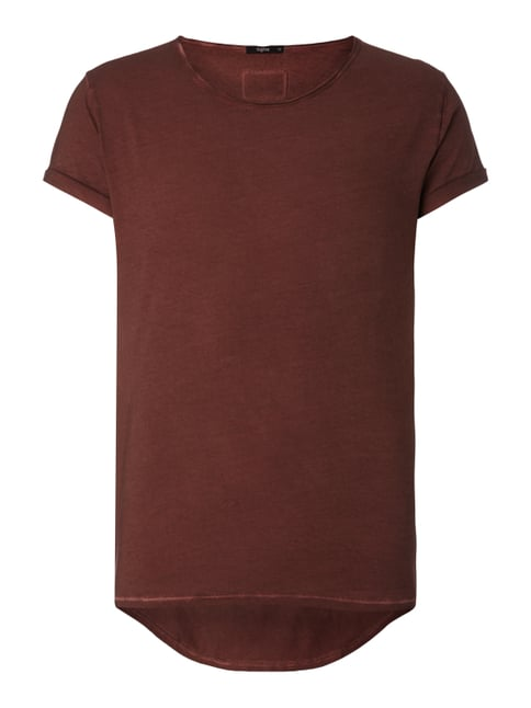 T-Shirt im Vintage Look Rot - 1
