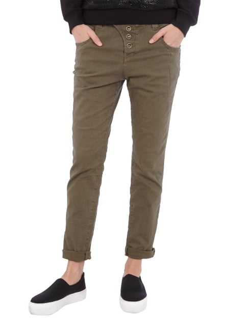 Tom Tailor Denim Coloured Anti Fit Jeans Khaki - 1