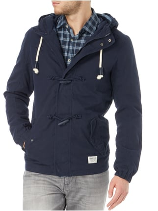 Tom Tailor Denim Jacke mit Kapuze Marineblau - 1