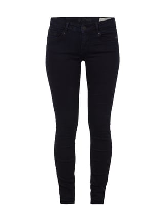 Rinsed Washed Extra Skinny Fit Jeans Grau / Schwarz - 1