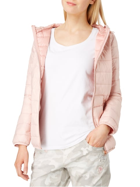 Tom Tailor Denim Steppjacke mit Kapuze Rosé - 1
