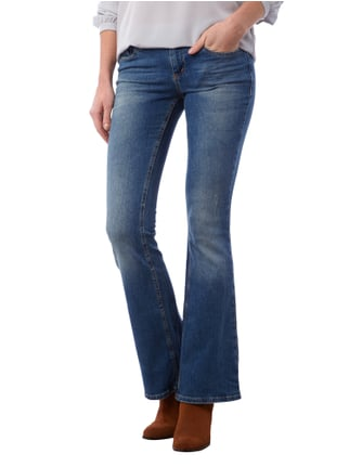 Tom Tailor Denim Stone Washed Flared Cut Jeans Jeans - 1