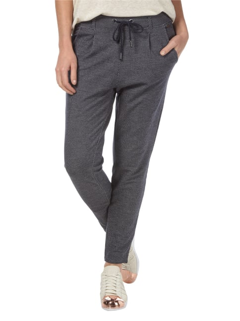 Tom Tailor Denim Sweatpants mit Bundfalten Dunkelblau - 1