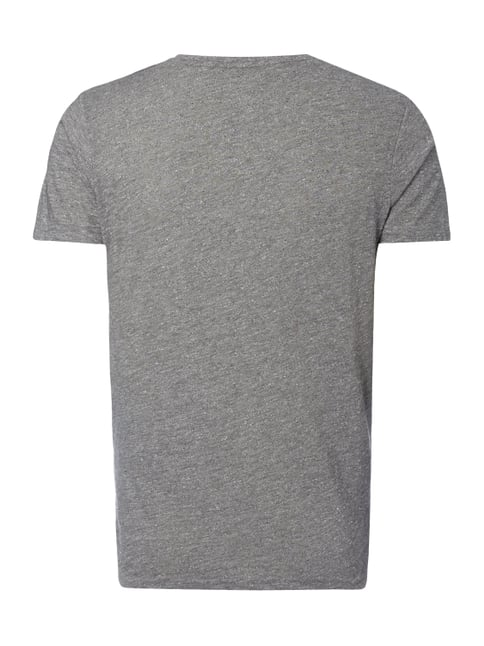 Tom Tailor Denim T-Shirt aus Slub Jersey Schwarz - 1