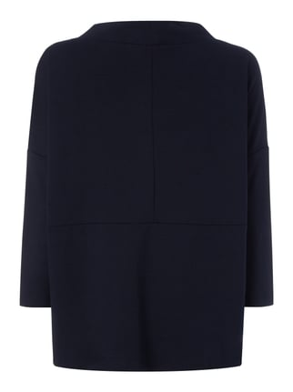 Tom Tailor Oversized Shirt mit locker fallendem Kragen Marineblau - 1