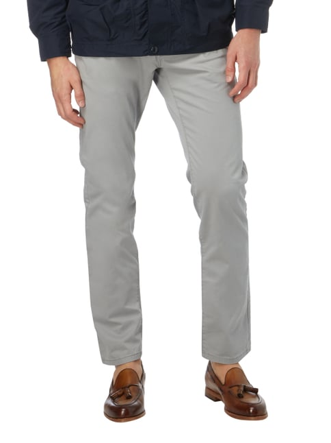 Tom Tailor Regular Fit Chino mit Gürtel Mittelgrau - 1