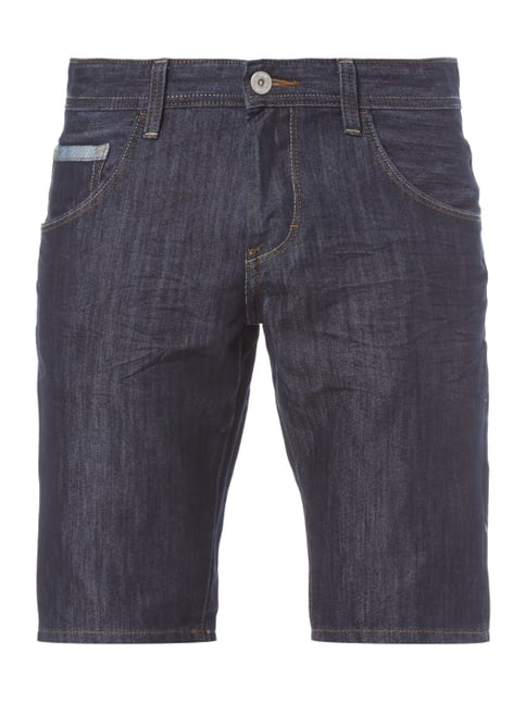 Regular Slim Fit Jeansbermudas Blau / Türkis - 1