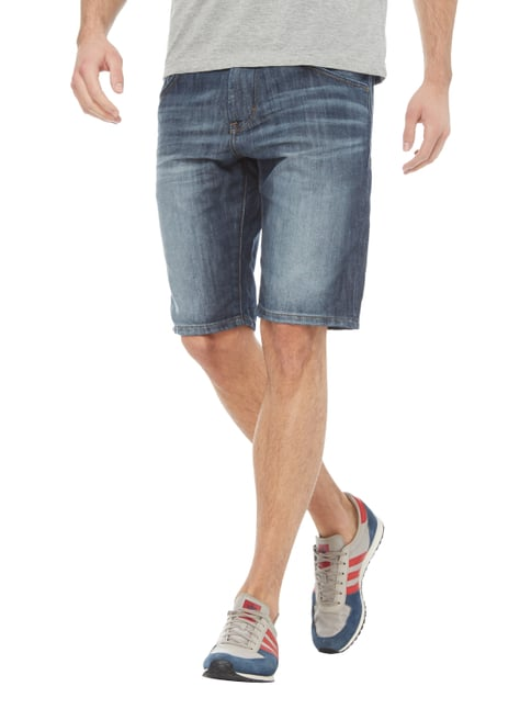 Tom Tailor Regular Slim Fit Jeansbermudas Royalblau - 1