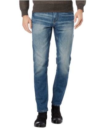Tom Tailor Stone Washed Regular Slim Fit Jeans Stein - 1
