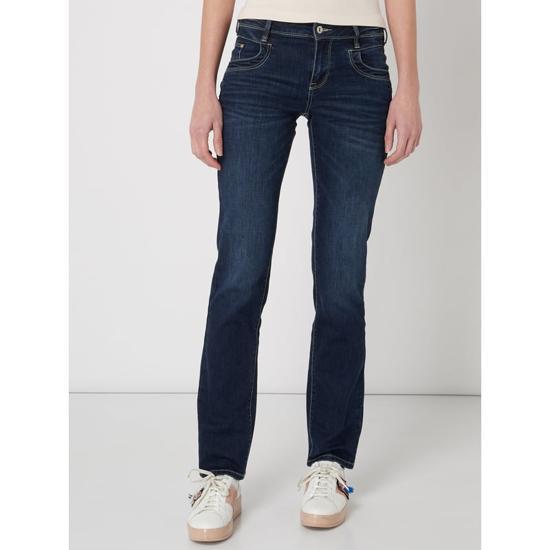 TOM TAILOR Stone Washed Straight Fit Jeans
