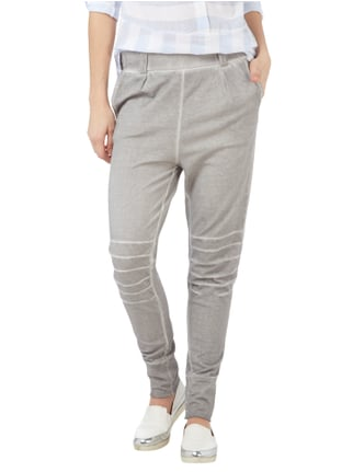 Tom Tailor Sweatpants im Washed Out-Look Hellgrau - 1