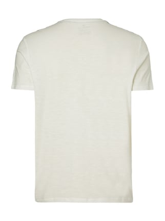 Tom Tailor T-Shirt mit Logo-Print Offwhite - 1