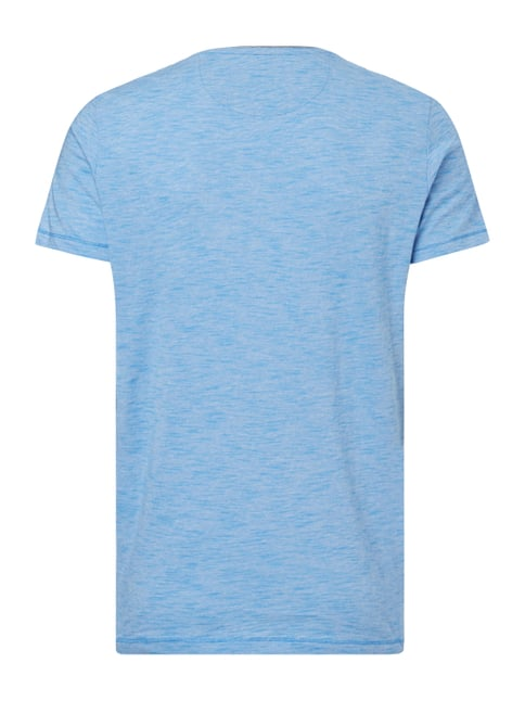 Tom Tailor T-Shirt mit Streifenmuster Royalblau - 1