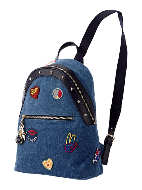 Canvas Backpack Gigi Hadid Rot - 1