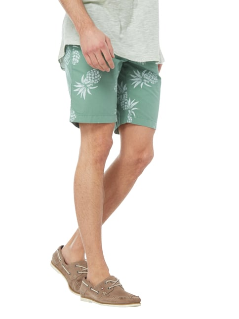 Tommy Hilfiger Classic Fit Chinobermudas mit Prints Mint - 1