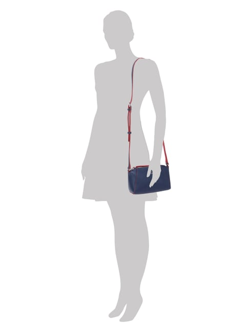 Tommy Hilfiger Crossbody Bag in zweifarbigem Design in Blau / Türkis - 1