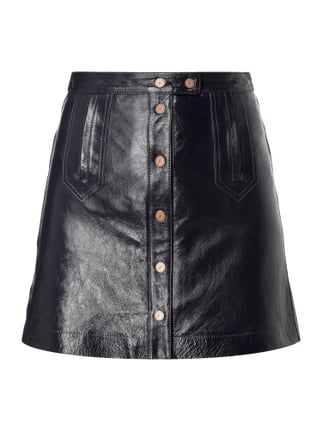 Leather Mini Skirt Gigi Hadid Blau / Türkis - 1