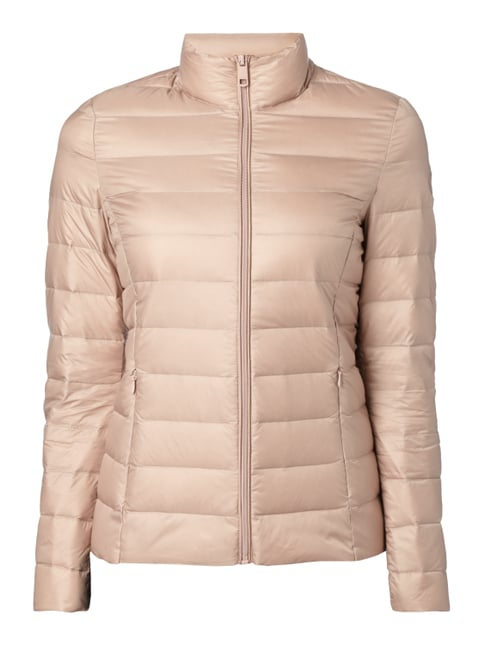 Light-Daunenjacke mit Steppungen Rosé - 1