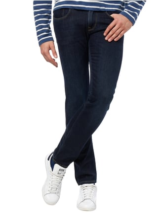 Tommy Hilfiger Light Stone Washed Slim Fit Jeans Marineblau - 1