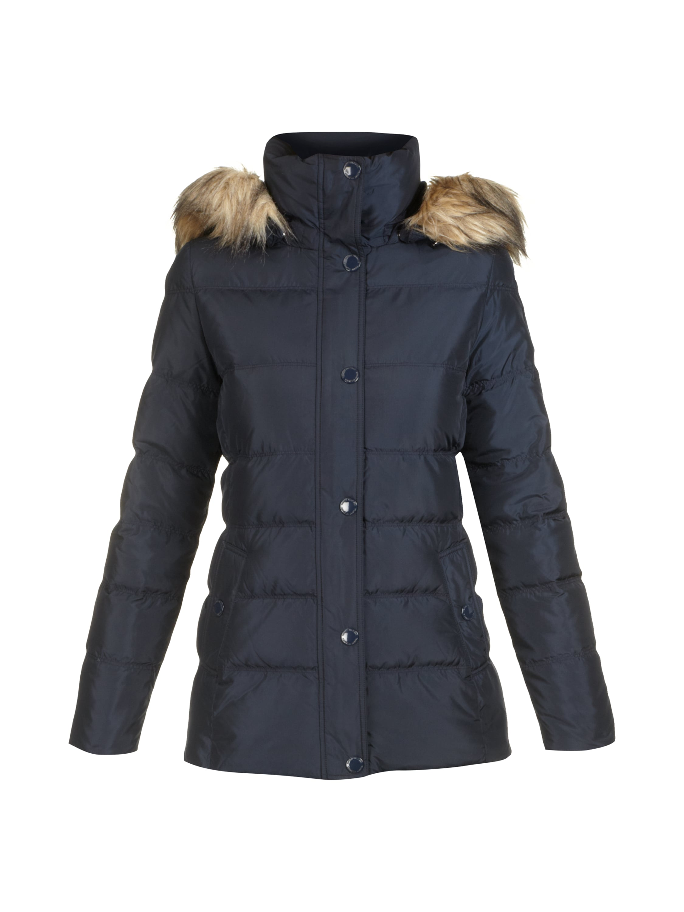tommy hilfiger main down jacket steppjacke mit echter daunen federn f llung in blau t rkis. Black Bedroom Furniture Sets. Home Design Ideas