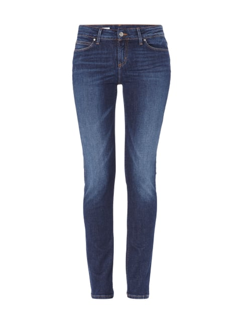 5-Pocket-Jeans im Stone Washed Look Blau / Türkis - 1